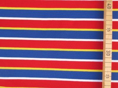 French Terry Streifen - unregelmäßige Streifen