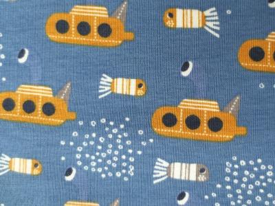 Jersey UBoot blau gelb Yellow Submarine
