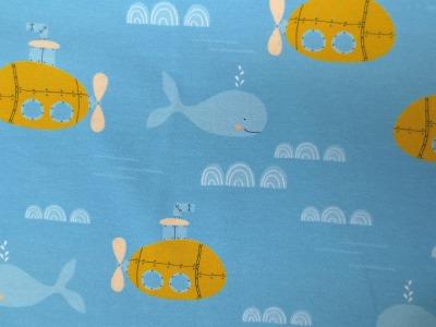 Jersey Boot hellblau gelb Yellow Submarine