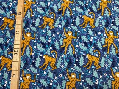 Jersey Affen im Wald - blau