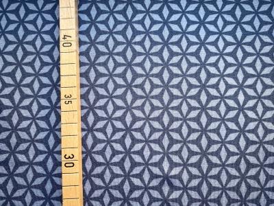Jersey Blumen - grafisches Muster -