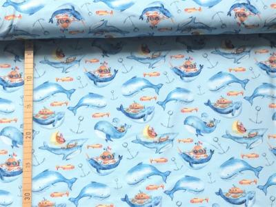 Jersey Wale - blau
