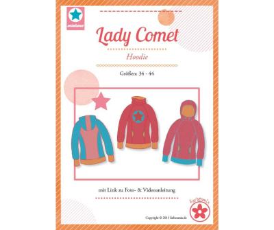 Papierschnittmuster Lady Comet Hoodie