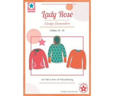 Papierschnittmuster Lady Rose Damenshirt