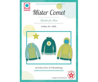 Papierschnittmuster Mister Comet Hoodie Mia Luna