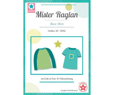 Papierschnittmuster Mister Raglan Basic Shirt Mia