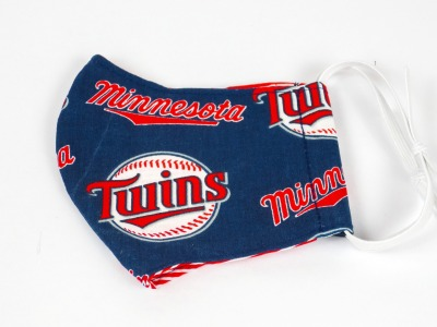 Alltagsmaske Baseball Twins 100 Baumwolle mit