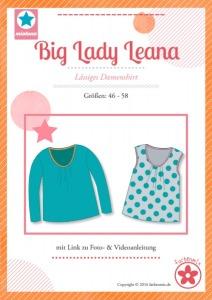 Papierschnittmuster Big Lady Leana Mia Luna