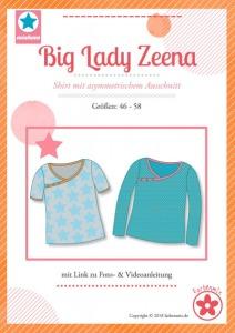 Papierschnittmuster Big Lady Zeena Shirt Mia