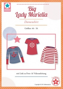 Papierschnittmuster Big Lady Mariella Damenshirt Mia