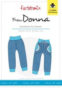 Frau Donna - Papierschnittmuster - Sweathose