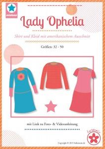 Papierschnittmuster Lady Ophelia Shirt und Kleid