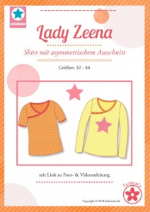 Papierschnittmuster Lady Zeena Shirt Mia Luna
