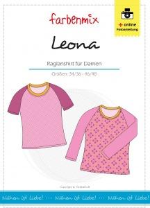 Leona - Papierschnittmuster - Raglanshirt für
