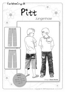 Pitt - Papierschnittmuster - Jungenhose -