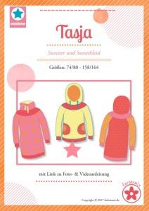 Papierschnittmuster Tasja Kids Sweater und Sweatkleid