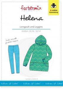 Helena Papierschnittmuster Longpulli und Leggins für
