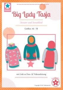 Papierschnittmuster Big Lady Tasja Sweater und