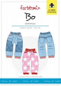 Bo - Papierschnittmuster - Stiefelhose