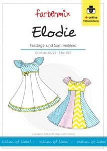 Elodie - Papierschnittmuster - Festtags- und