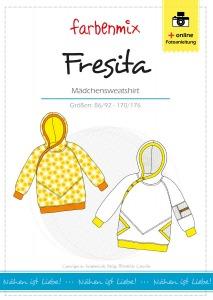 Fresita - Papierschnittmuster - Mädchensweatshirt