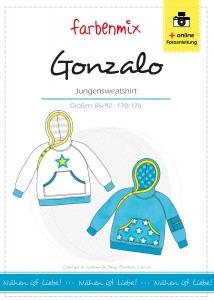 Gonzalo - Papierschnittmuster - Jungensweatshirt