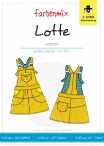 Lotte - Papierschnittmuster - Latzrock