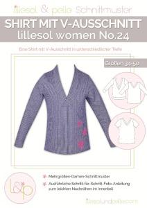 Papierschnittmuster Shirt lillesol und pelle women