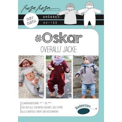 Oskar von rosarosa Papierschnittmuster Blaubeerstern Baby