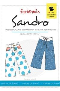 Sandro Papierschnittmuster -Tobehose für Jungs und