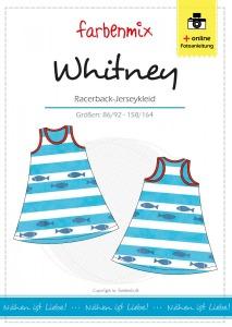 Whitney - Papierschnittmuster - Racerback-Jerseykleid