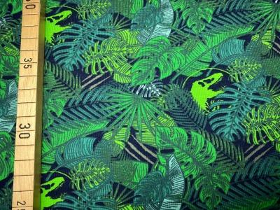 Jersey Dino im Dschungel - grün