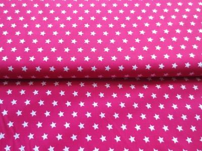 Stoff Sterne pink - 100 Baumwolle