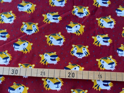Jersey Tiger Furry Faces Käselotti rot
