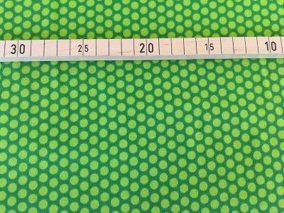 Jersey Punkte dunkelgrün
