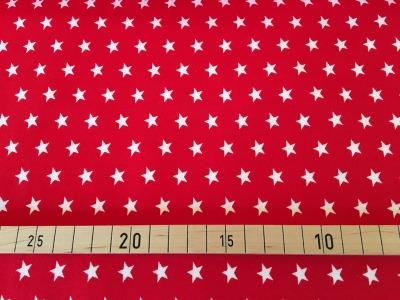 Jersey Sterne rot/weiß