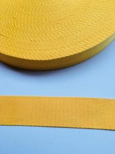 Gurtband - 40 mm - gelb