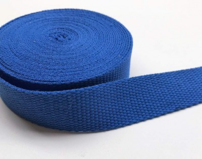 Gurtband - 30 mm - blau