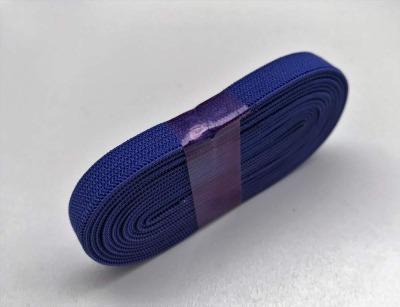 2m Gummiband nachtblau - 1 cm