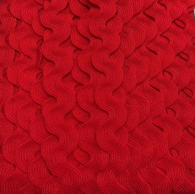 Zackenlitze rot 17 mm