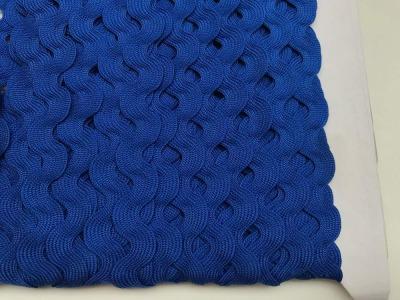 Zackenlitze dunkelblau 17 mm