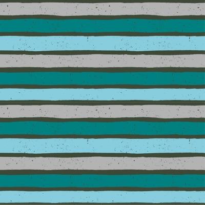 Jersey Streifen grau Blaubeerstern