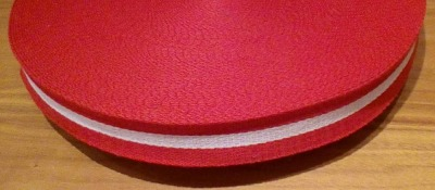 Gurtband - 40 mm - rot