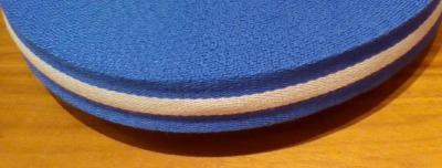 Gurtband - 40 mm - blau