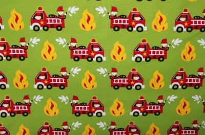 Jersey Feuerwehr grün