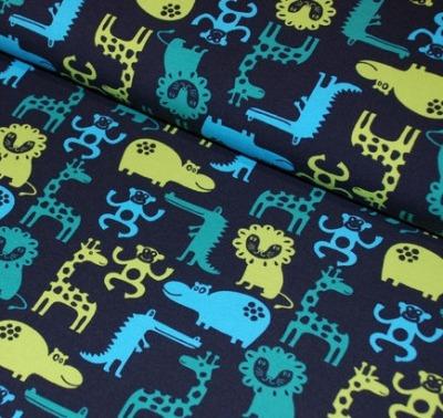 Jersey Tiere nachtblau