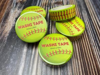 Washi-Tape mit Softball-Naht 15mm breit 10m