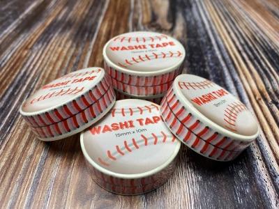 Washi-Tape mit Baseball-Naht 15mm breit 10m