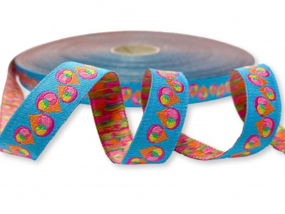 Webband Tropfen Drops Design bienvenido colorido