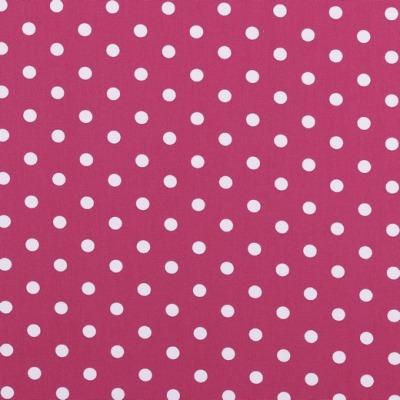 04949006 Baumwolle Stoff Punkte Dots pink